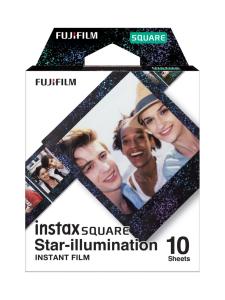 Fujifilm - Fujifilm Instax Film Square (10 kuvaa) pikafilmi - Star-illumination | Stockmann