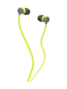 Skullcandy - JIB -kuulokkeet - Grey/Hot Lime - HARMAA | Stockmann