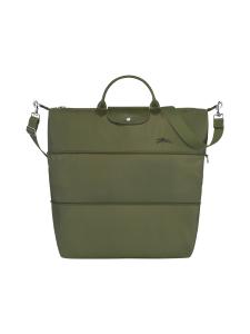 Longchamp - LE PLIAGE GREEN - TRAVEL BAG EXPANDABLE - LAAJENNETTAVA MATKAKASSI - FOREST | Stockmann