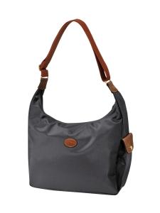 Longchamp - Le Pliage Hobo Bag - Laukku - GUN METAL | Stockmann