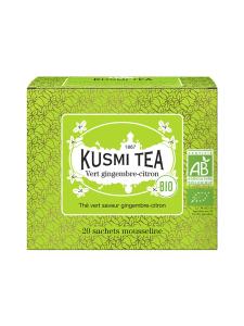 Kusmi Tea - Green Ginger-Lemon Luomu Pussitee 20kpl 40g   Stockmann
