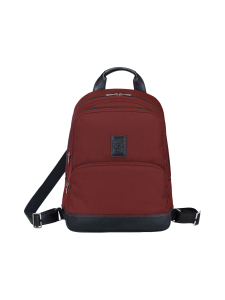 Longchamp - Boxford Backpack - Reppu - RED LACQUER | Stockmann