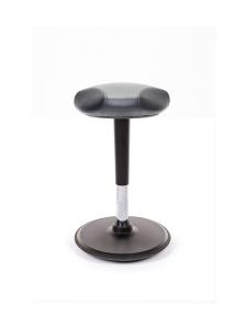 Stoo® Active Ergonomics - Stoo® Triangle aktiivituoli keinonahkaistuimella - Korkea 57 - 86 cm, musta runko | Stockmann
