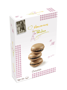 Biscuits  de Pauline - Macarons Suklaa 72g Biscuit de Pauline | Stockmann