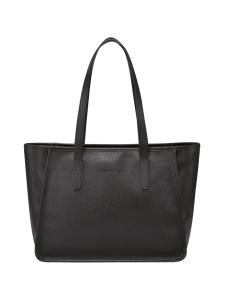 Longchamp - Le Foulonné - Shoulderbag - Nahkalaukku - BLACK   Stockmann