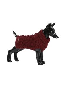 PAIKKA - Handmade Knit Sweater Burgundy - BURGUNDY | Stockmann