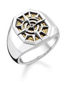Thomas Sabo - Thomas Sabo Ring Compass Gold -sormus | Stockmann