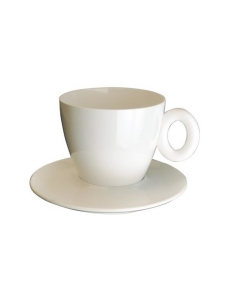 Mepra - Policarbonato-espressokuppi ja aluslautanen - PORCELAIN   Stockmann