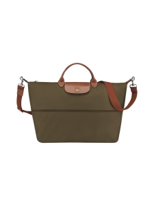 Longchamp - Le Pliage Travel Bag - Laukku (Laajennettava) - KHAKI | Stockmann