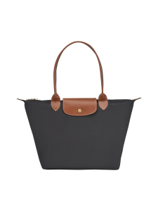 Longchamp - Le Pliage Shoulder Bag S -Laukku - GUN METAL | Stockmann