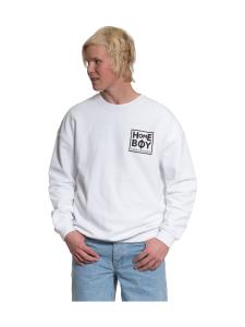 Homeboy - The Bigger homie - collegepaita - WHITE | Stockmann