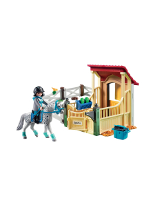 Playmobil - PLAYMOBIL COUNTRY Hevostalli ja appaloosahevonen - null | Stockmann