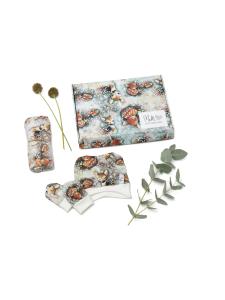 Melli EcoDesign - Vauvapakkaus pieni Bambit lehtisateessa jade tai malva - MALVA | Stockmann