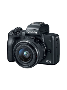 Canon - Canon EOS M50 + EF-M 15-45mm IS STM Kit - Musta | Stockmann