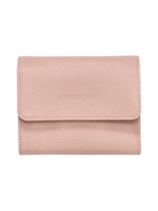 Longchamp - Le Foulonné – Compact Wallet – Nahkalompakko - POWDER | Stockmann
