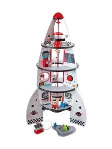 Hape - Puinen avaruusraketti tarvikkeilla | Stockmann