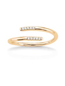 Korkeila Jewellery - Sulo - timanttisormus - KELTAKULTA | Stockmann