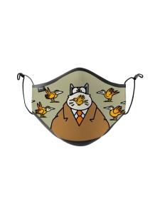 Kowi Kowi - Philippe Geluck Un oiseau pour le Chat - Kasvomaski | Stockmann