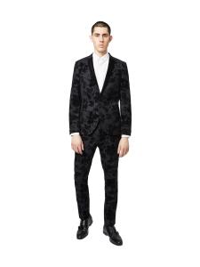 Twisted Tailor - Dillinger -2-osainen puku - MUSTA | Stockmann