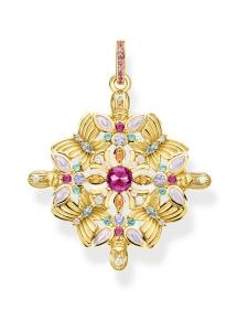Thomas Sabo - Thomas Sabo Pendant amulet kaleidoscope butterfly gold -riipus   Stockmann