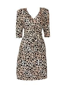 Nakoa - Wrap Dress, Leopard - LEOPARD | Stockmann