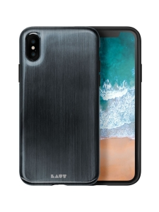 Laut - HUEX METALLICS iPhone X -suojakuori - Noir - MUSTA | Stockmann