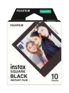 Fujifilm - Fujifilm Instax Film Square Black Frame (10 kuvaa) pikafilmi mustalla kehyksellä | Stockmann