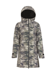 PAIKKA - Human Visibility Raincoat Camo for Ladies - CAMO | Stockmann