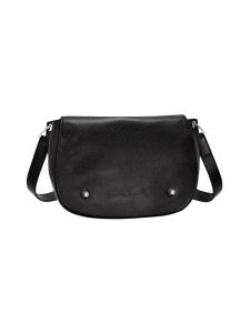 Longchamp - Le Foulonné Hobo Bag - Nahkalaukku - BLACK | Stockmann