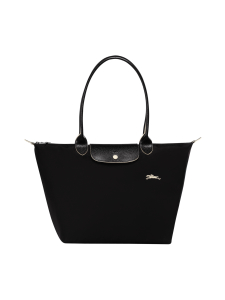 Longchamp - Le Pliage Club Shoulder Bag L - Laukku - BLACK | Stockmann