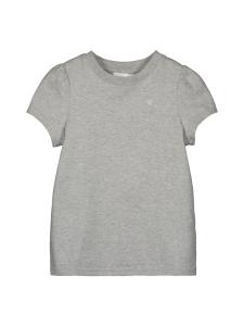 Gauhar Helsinki - T-paita puhvihiha harmaa meleerattu puuvilla tytöt - HARMAA | Stockmann