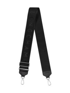 Longchamp - ADJUSTABLE LONGCHAMP SHOULDER STRAP - OLKAHIHNA - BLACK | Stockmann