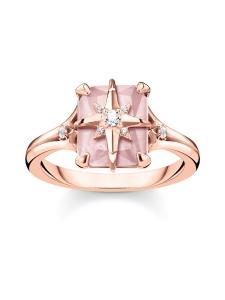Thomas Sabo - Thomas Sabo Ring Pink Stone with Star -sormus | Stockmann
