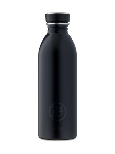 24Bottles - Urban Bottle, 0,5l -juomapullo - Tuxedo Black   Stockmann