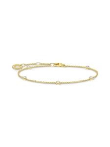 Thomas Sabo - Thomas Sabo Bracelet White Stones Gold -rannekoru | Stockmann
