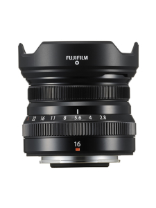 Fujifilm - FujiFilm XF 16mm f/2.8 R WR -objektiivi - Musta | Stockmann