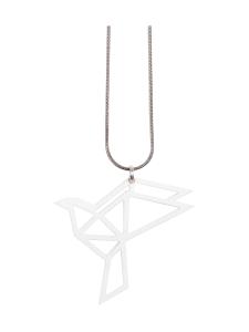 YO ZEN - Origami Dove -kaulakoru, valkoinen - VALKOINEN   Stockmann