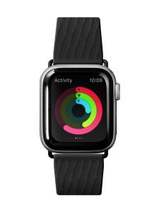 Laut - Active 2.0 Apple Watch (42/44 mm) -nauha - Black - MUSTA | Stockmann