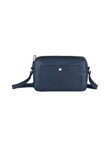 Longchamp - Le Foulonné Crossbody Bag - Nahkalaukku - NAVY | Stockmann