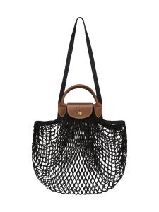 Longchamp - LE PLIAGE FILET - TOP HANDLE BAG - LAUKKU - BLACK   Stockmann