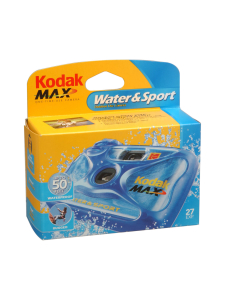 Kodak - Kodak Water & Sport -vedenkestävä kertakäyttökamera - null | Stockmann