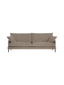 HT Collection - Luca -sohva, 232cm - TUMMA BEIGE   Stockmann