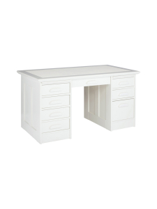 Boknäs - Kirjoituspöytä laatikostoilla - LUMIVALKOINEN | Stockmann