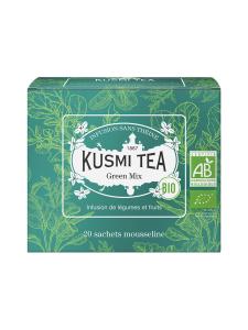 Kusmi Tea - Green Mix Luomu Pussitee 20kpl 40g | Stockmann