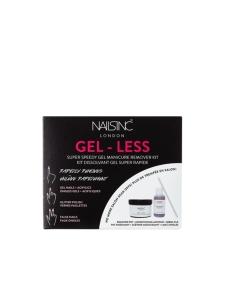 NAILS INC - GEL-LESS Manicure Remover Kit -geeli- ja glitterkynsilakan poistopakkaus | Stockmann