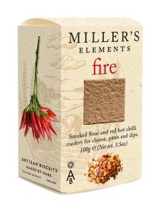 Artisan Biscuits - Cracker Fire Miller's Elements 100g | Stockmann