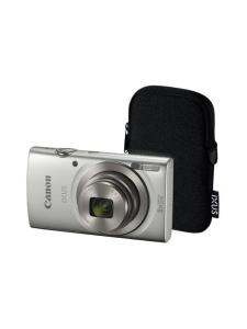 Canon - Canon IXUS 185 kamera + suojalaukku - Hopea | Stockmann