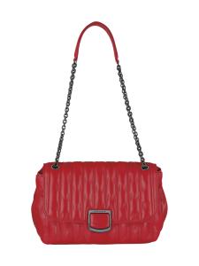 Longchamp - BRIOCHE - CROSSBODY BAG M - NAHKALAUKKU - RED   Stockmann