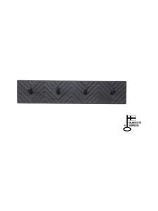 Juurilla Design - Loimu-naulakko, neljä koukkua - MUSTA | Stockmann