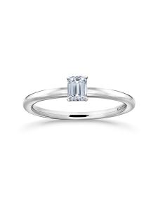 Korkeila Jewellery - Siro Emerald - timanttisormus - VALKOKULTA | Stockmann
